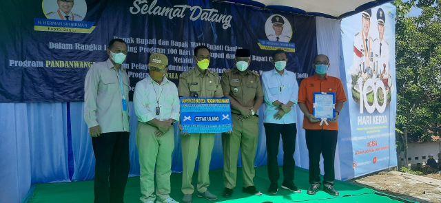 Pandanwangi dan Dawala Andalan Cianjur Perbaiki Birokrasi Administrasi Kependudukan